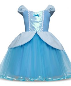 Baby Girl Cinderella Dress Children Snow White Princess Sofia Dresses Rapunzel Girls Halloween Party Cosplay Costume Fancy Gown  1
