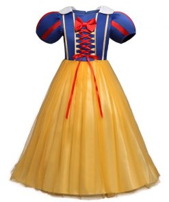 Halloween Clothes For Children Snow White Cosplay Dresses Girls Masquerade Party Princess Clothes Infant Baby Girl Tutu Dress
