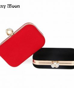 new Crystal Clutch High Quality sueded Evening Bags women bag Hard Case Evening Bag Women Messenger Bags 1