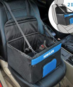 Dog Booster Seat Soft Pet Travel Protector Pet Cat Dog Carrier Car Seat Basket Dog Bags Safety Belt Mesh Waterproof Mat 1