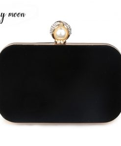 new Crystal Clutch High Quality sueded Evening Bags women bag Hard Case Evening Bag Women Messenger Bags
