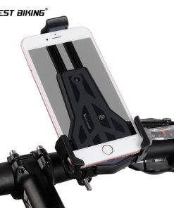 WEST BIKING Cycling Phone Stand 360 Degrees Rotate Mount 3.5-6.2 inch Phone Universal Bike Motorcycle Bracket MTB Bike Holders