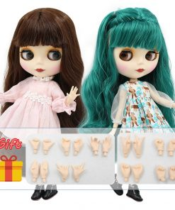 factory blyth doll bjd naked doll normal/joint body bjd 30cm hands AB as gift