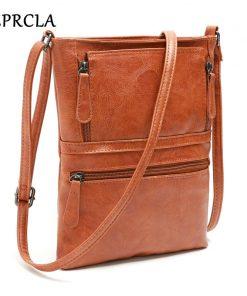REPRCLA Vintage Crossbody Bags for Women 2018 Messenger Bags High Quality Leather Handbag Female Shoulder Bag Bolsa Feminina 1