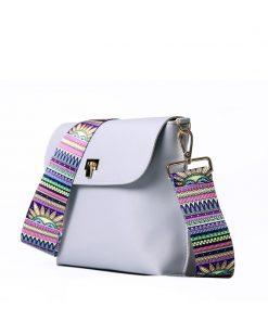 DAUNAVIA Brand bags for women 2019 Women PU Leather Shoulder bags Crossbody women Messenger Bags with Colorful Strap Handbags 1