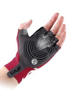 GIYO Anti Slip Gel Pad Bicycle Gloves Gel Pad Short Half Finger Cycling Gloves Breathable Outdoor Sports Men MTB Bikes Gloves 1