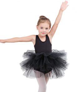 Fashion kids girl ballet tutu dress Professional dancing Party dress  Performance costume Princess Wedding Girl Dress 2-8 Ys 1