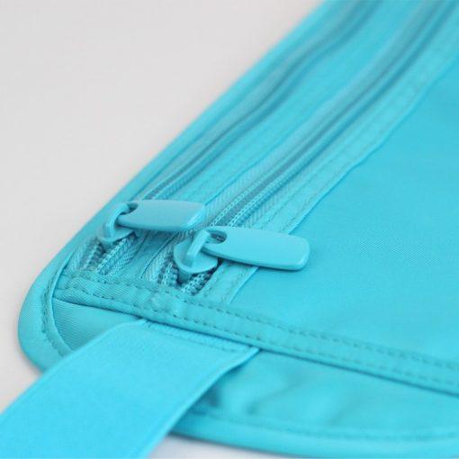 Women Polyester Belt Bags Waist Packs Bags Unisex Nylon Waistband For Accessory Small Travel Bag 2