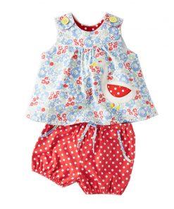 Baby Girls Sets Summer Children Clothing Brand Kids Tracksuit for Girls Clothes Animal Applique Tops Toddler Girls Short Sets