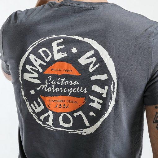 SIMWOOD T Shirt Men 2019 Crew Neck Summer New Graphic Print Fashion Slim Fit TShirt High Quality Plus Size Casual Tops 180044 4