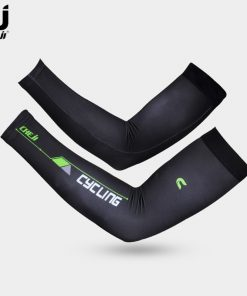 CHEJI Summer Black UV Bike Armwarmers Manguito de Bicicleta Ciclismo Arm Sleeves Cover Bicycle Cycling Arm Warmers for Men