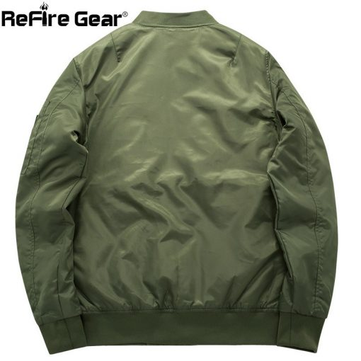 MA-1 Tactical Air Force Bomber Jacket Men Military Warm Padded Airborne Flight Army Jacket Winter Blue Motorcycle Pilot Coat 8XL 3