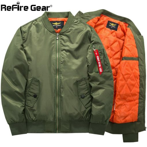 MA-1 Tactical Air Force Bomber Jacket Men Military Warm Padded Airborne Flight Army Jacket Winter Blue Motorcycle Pilot Coat 8XL 2