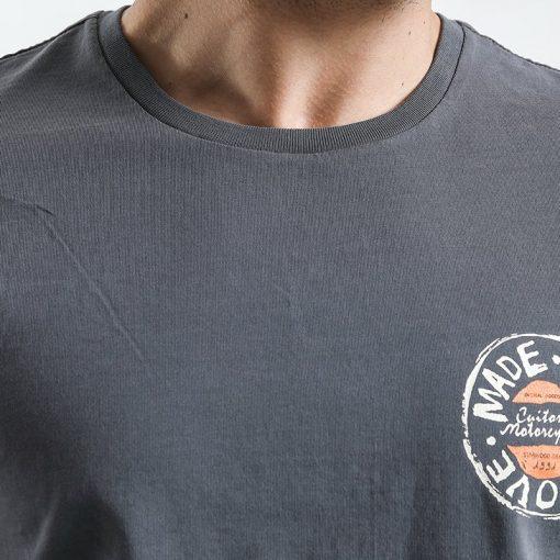 SIMWOOD T Shirt Men 2019 Crew Neck Summer New Graphic Print Fashion Slim Fit TShirt High Quality Plus Size Casual Tops 180044 2