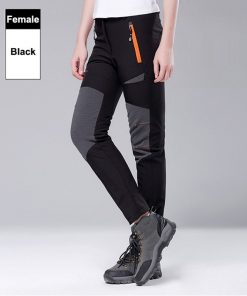 WEST BIKING Winter Thermal Outdoor Pants Men Women Fleece MTB Bike Pants Windproof Riding Bicycle Trousers Sport Cycling Pants 1