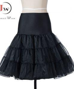 Tutu Skirt swing Rockabilly Petticoat Underskirt fluffy pettiskirt for Wedding Bridal Vintage 50s Audrey hepburn Women Ball Gown