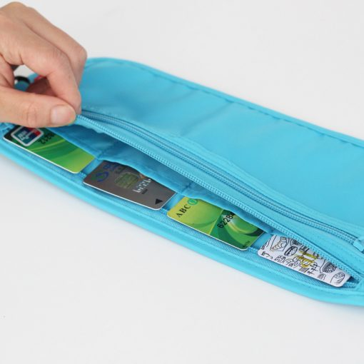Women Polyester Belt Bags Waist Packs Bags Unisex Nylon Waistband For Accessory Small Travel Bag 4