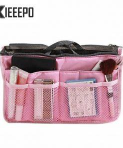 Trunk Travel Cosmetic Bag Portable Zipper Make Up Bags Polyester High Capacity Makeup Case Necessaries Organizer Storage Bag