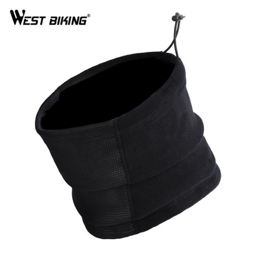 WEST BIKING Cycling Half Face Mask Winter Neck Thermal Cap Surface Dust-proof Snowboard Mask Bicycle Scarf Ski Cycling Face Mask