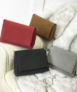 REPRCLA Brand Simple Women Messenger Bags Designer Handbags Snake Chain Shoulder Bag Female Crossbody Women Bags 1