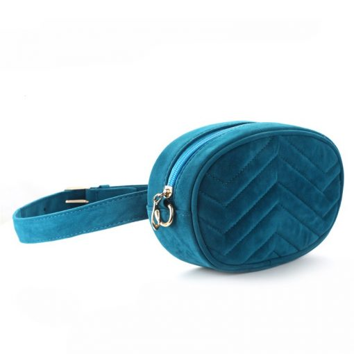 DAUNAVIA Waist Bag Women Waist fanny Packs belt bag luxury brand bags for women 2019 new fashion high quality corduroy waist bag 1