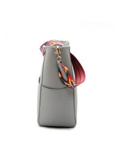 DAUNAVIA Luxury Women Handbags  Famous Designer Brand Women Shoulder Bags with Colorful Strap Pu Leather bag Women messenger bag 1