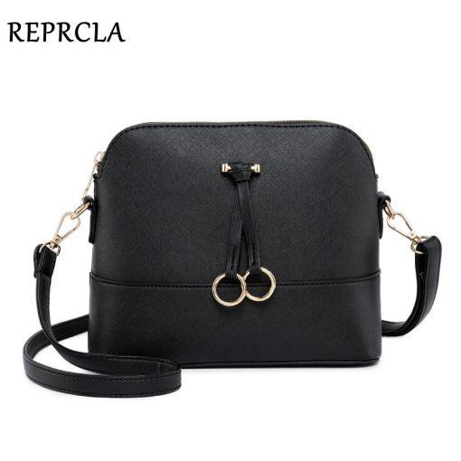REPRCLA Patchwork Crossbody Bags for Women 2018 Fashion Shoulder Bag Shell Women Messenger Bags Luxury Leather Handbag Designer 1