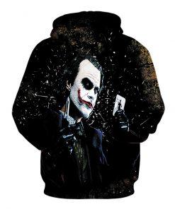 Hot sale Winter Halloween Clown Hoodies 3D Unisex Sweatshirt Men Brand Hoodie Comic Casual Pullover Pranks Hip-hop Streetwear 1