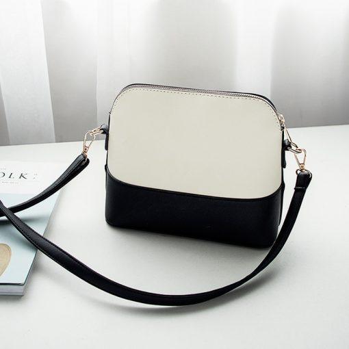 REPRCLA Patchwork Crossbody Bags for Women 2018 Fashion Shoulder Bag Shell Women Messenger Bags Luxury Leather Handbag Designer 4
