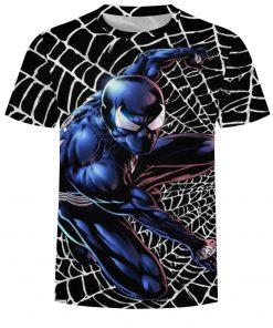 Men Fitness Quick Drying Compression Shirt 3D T-Shirt Leisure Marvel Super Heroes Avengers Cartoon Spiderman Short SleeveT-Shirt 1