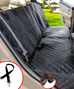 Car Dog Seat Cover For Back Seat 100% Waterproof Nonslip 600D Heavy Duty Bench Car Seat Covers Hammock Mat 1