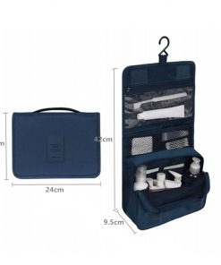 Travel set High quality waterproof portable man toiletry bag women cosmetic organizer pouch Hanging wash bags 1