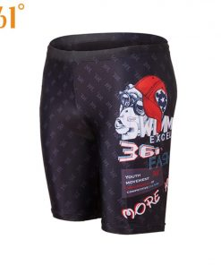 361 Men Swimwear Tight Swim Shorts Professional Swimming Trunk for Men 2018 Large Size Swim Pants Swimsuit Boys Swimming Shorts