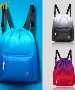 361 Sports Bag Swimming Backpack Waterproof Bag 20L Drawstring Dry Wet Bag Camping Pool Beach Gym Fitness Men Women Children