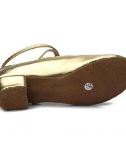 609new arrival wholesale Children/child/kids latin dance shoes ballroom tango salsa dancing shoes low heel dance shoes 609 1