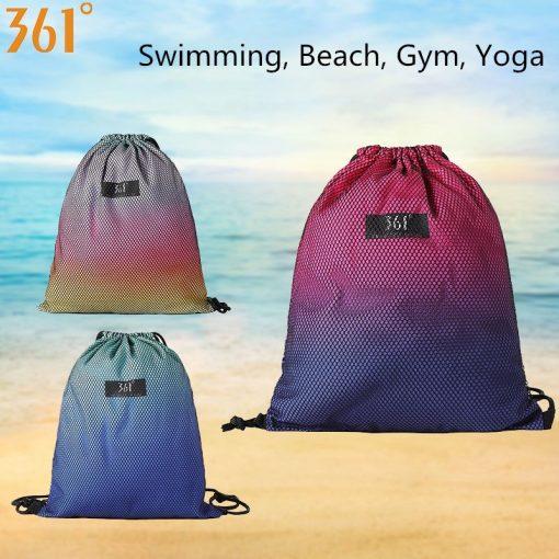 361 Sport Bag Swimming Backpack Drawstring Camping Sports Bags Outdoor Travel Pool Beach Gym Yoga Fitness Men Women Children Bag 2