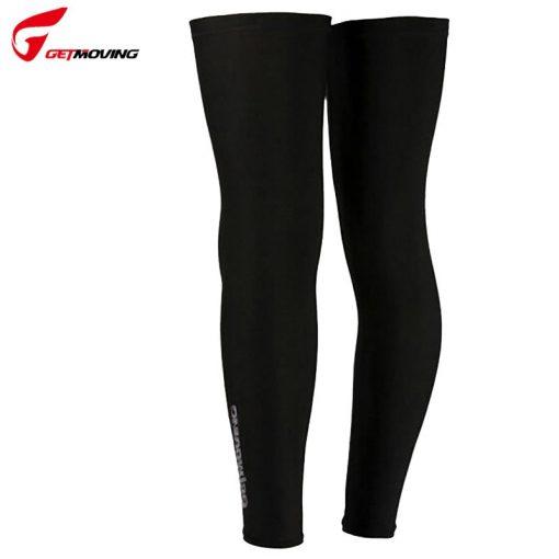 GETMOVING Breathable Windproof Cycling Leg Mountain Road Cycling Socks MTB Bike Protect Covers Cycling Leg Warmers