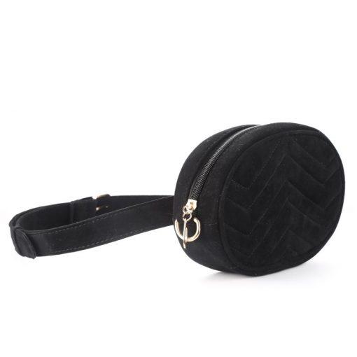 DAUNAVIA Waist Bag Women Waist fanny Packs belt bag luxury brand bags for women 2019 new fashion high quality corduroy waist bag 4