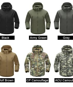 FREE SOLDIER Outdoor Sport Tactical Military Jacket Men's Clothing For Camping Hiking Softshell Windproof Warm Coat Hunt Clothes 1