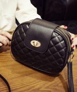 REPRCLA Hot Fashion Crossbody Bags for Women 2018 High Capacity 3 Layer Shoulder Bag Handbag PU Leather Women Messenger Bags 1