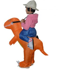 Inflatable Dinosaur Costumes for Kids Girls Boys Adults T-Rex Fancy Dress Purim Dino Halloween Costume for kids Animal Costume 1