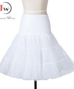 Tutu Skirt swing Rockabilly Petticoat Underskirt fluffy pettiskirt for Wedding Bridal Vintage 50s Audrey hepburn Women Ball Gown 1