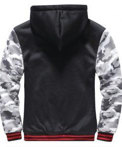BOLUBAO Fashion Brand Men Casual Hoodies Winter Men's Camouflage Hoodies Sweatshirts Plus Velvet Thick Hooded Sweatshirts Male 2