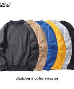 BOLUBAO Fashion Brand Men Hoodie Sweatshirt Spring Autumn Mens Sweatshirt Hoodies Men's Solid Color Long Sleeve Hoodies Top 1