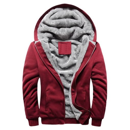 BOLUBAO Fashion Brand Men's Jackets Autumn Winter New Men Plus velvet Thickening Jacket Male Casual Hooded Jacket Coats 3