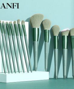 13PCs Makeup Brushes Set Soft Concealer Eyeshadow Foundation Blush Lip Eyebrow Brushes Set For Face Make-up Cosmetic Tools Kit 2