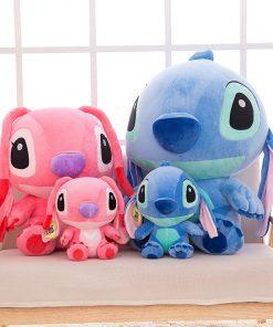 Disney stitch disney 35-80cm Giant Cartoon lilo and stitch & peluche stitch Plush Toy Doll Children Stuffed Toy Birthday gift 2