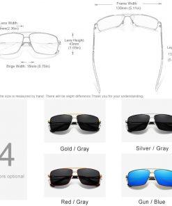 KINGSEVEN 2020 New Men's Glasses Structure Design Temples Sunglasses Brand Polarized Women Stainless steel Material Gafas De Sol 4