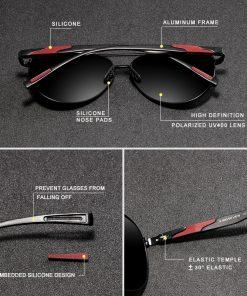 KINGSEVEN 2019 Brand Design Men's Sunglasses Polarized Aluminum Pilot Glasses For Women Fashion Style UV400 Gafas De Sol 2