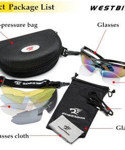 Dropshopping Cycling Polarized Eyewear Glasses Bicycle Sunglasses MTB Road Bike Men Women 5 Lenses Glasses Cycling Equipment 2